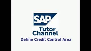 How to define credit control area in SAP