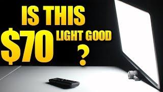 $70 Light That Is Pretty EPIC - Godox LEDP260C - Nick Reviews