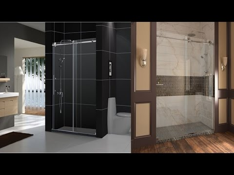 Dreamline enigma x 56 60 inch fully frameless sliding shower door dreamline enigma x 56 60 inch fully frameless sliding shower door in brushed stainless steel finish planetlyrics Image collections