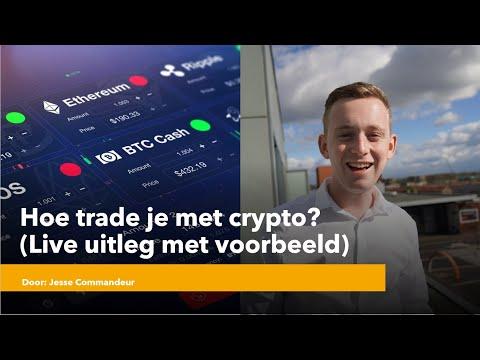 Hoe trade je met crypto? (Live uitleg met voorbeeld)