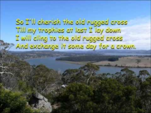 On a hill far away stood an old rugged cross