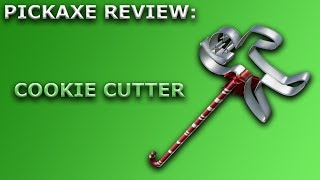 Cookie Cutter Pickaxe Review + Sound Showcase! ~ Fortnite Battle Royale