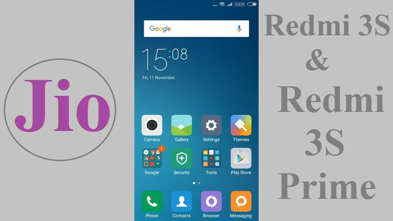 Jio APN settings for Xiaomi Redmi 3s Prime - Jio APN Settings