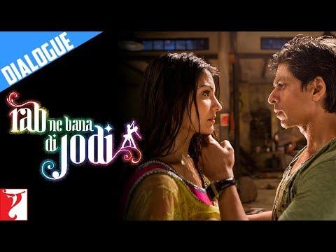 Dialogue | Bhaag Chaliye Mere Saath | Rab Ne Bana Di Jodi | Shah Rukh Khan | Anushka Sharma