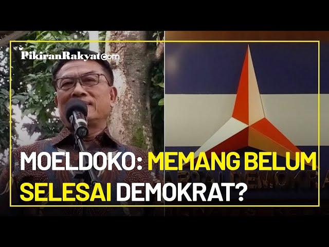 Namanya Disinggung Susilo Bambang Yudhoyono, Moeldoko: Memang Belum Selesai Demokrat?