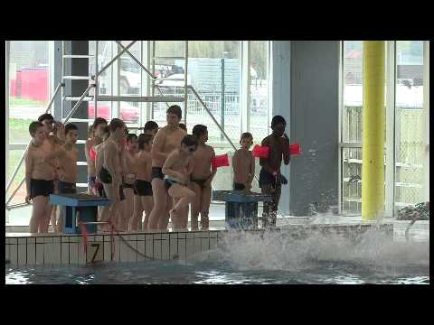 Piscine les dauphins parc d 39 amusement flipper youtube for Piscine dauphin mouscron