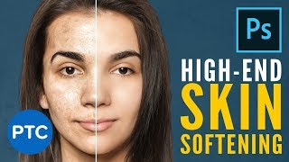 Easily Smooth and Soften Skin In Photoshop   High-End Retouching Techniques [FREE Action Included]