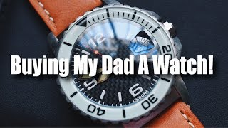 Buying My Dad A Watch!