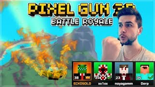 WINNING EVERY GAME! BATTLE ROYALE SQUAD WINS & SUPER CHESTS OPENING! | pixel Gun 3D