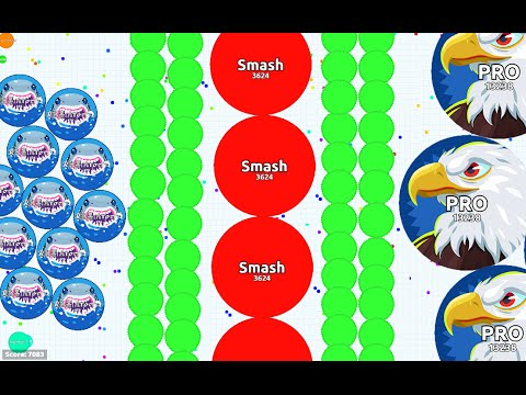 BETTER THAN TEAMING ? - DESTROYING TEAMS SOLO IN AGARIO | Agar.io Awesome Moments |