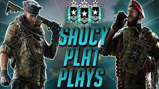 Saucy Plat Plays! // Rainbow Six Live Stream (PC)