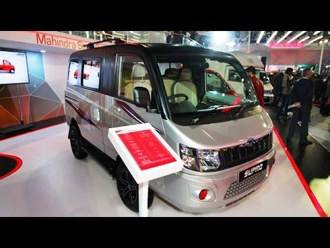 84578962e07d03 Mahindra Supro   Imperio CVs Showcased At Auto Expo 2016 - YouTube