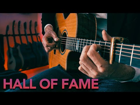 The Script - Hall Of Fame | Fingerstyle Guitar Cover