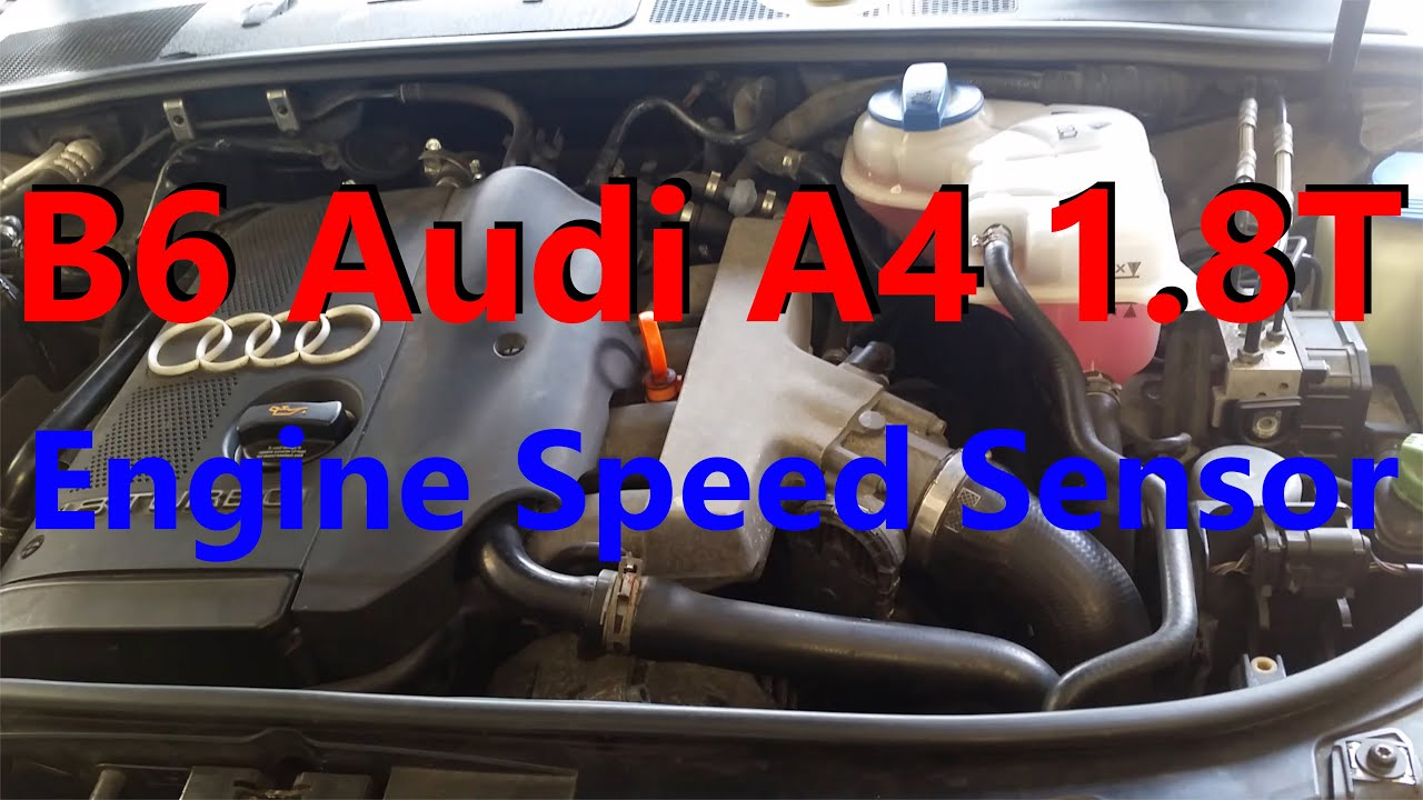 B6 Audi A4 1 8T Speed Sensor Replacement