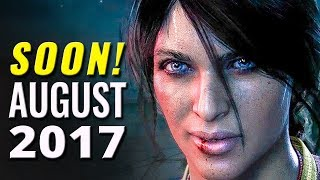 25 Upcoming Games of August 2017 | PC, Nintendo Switch, PS4, Xbox One