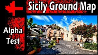 War Thunder - Alpha Test - Sicily Ground Map Overview