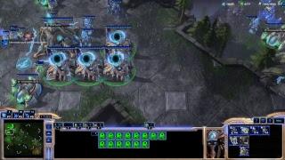 StarCraft 2 . УРОК. Эффективный АПМ, Разбор партии старкрафт 2 по кнопочкам, для новичков