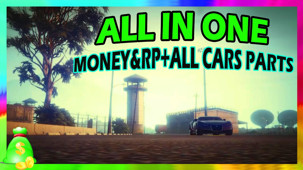 GTA 5 ALL IN ONE RR & MONEY + UNLOCK ALL CAR PARTS FAST & ESAY PS4 ...