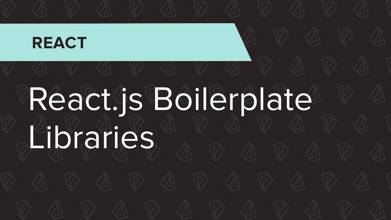 React ep 1 reactjs boilerplate libraries youtube malvernweather Gallery