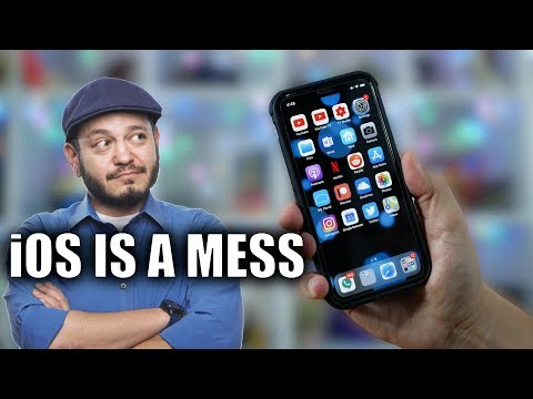 iOS is a MESS! Cleaning up my iPhone XS...