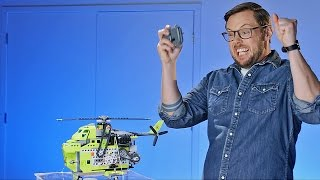 Lava-Lifting Megacopter- LEGO - Beyond the Instructions – Ep 9
