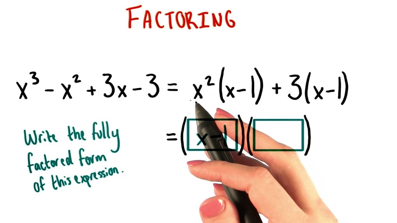 Fully Factored Form - College Algebra - YouTube