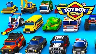 Toybox Turbos - THE HOTTEST OF HOT WHEELS! - Toybox Turbos Gameplay - The New Crash Wheels Game!