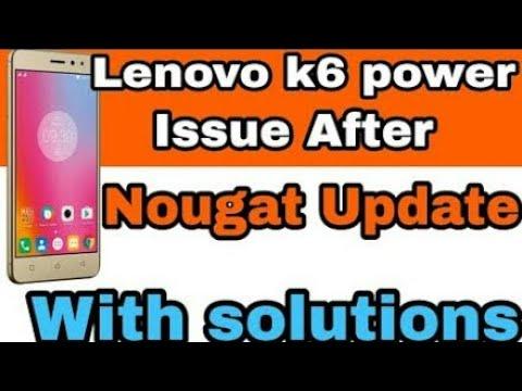 How to solve Lenovo k6 power nougat update Problems|Lenovo k6 power Volte,  Mic, Network Problem