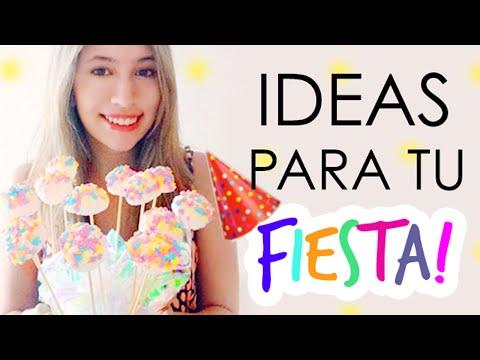Ideas para tu fiesta! ♡ ɴᴀɴᴄʏ