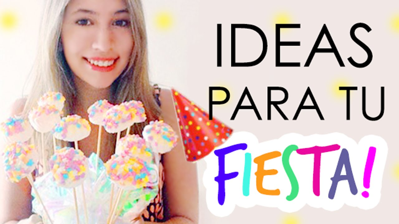 Ideas para tu fiesta youtube - Ideas para celebrar un cumpleanos de adulto ...