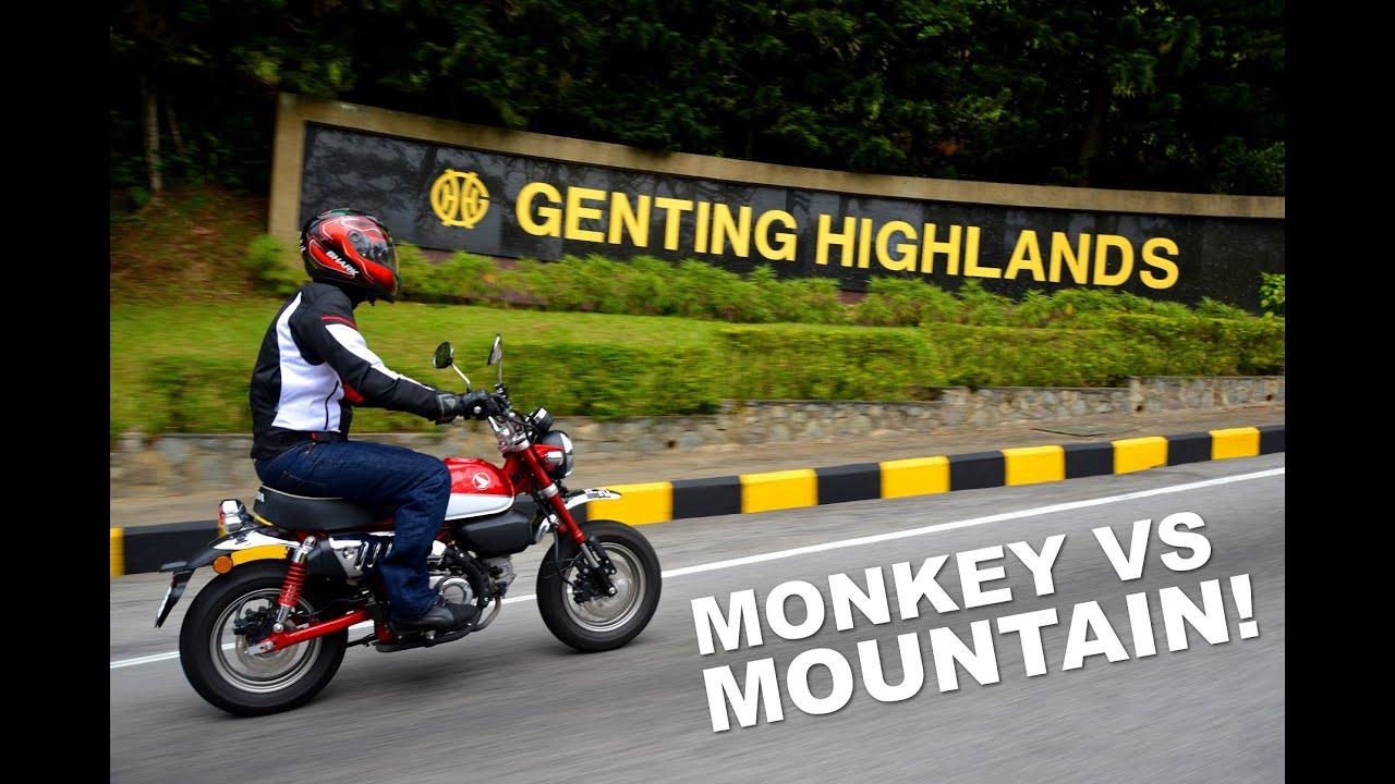 Taking On Genting Highlands On A 9hp Honda Monkey Youtube