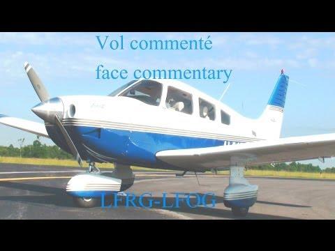 Vol commenté entre Deauville (LFRG) et FLERS SAINT PAUL (LFOG)