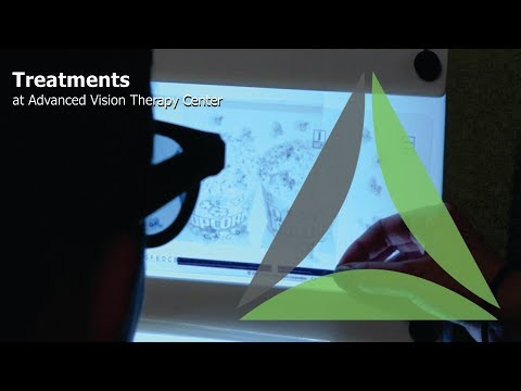 Treatments at Advanced Vision Therapy Center