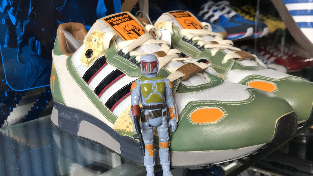 adidas BOBA FETT ZX 800 | Star Wars | Unboxing | Review