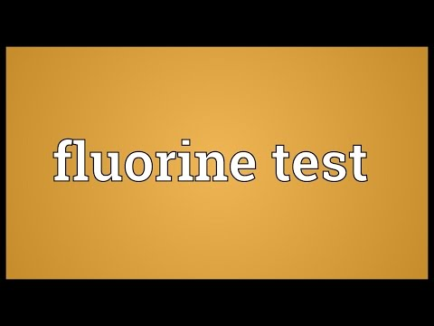 fluorine dating meaning