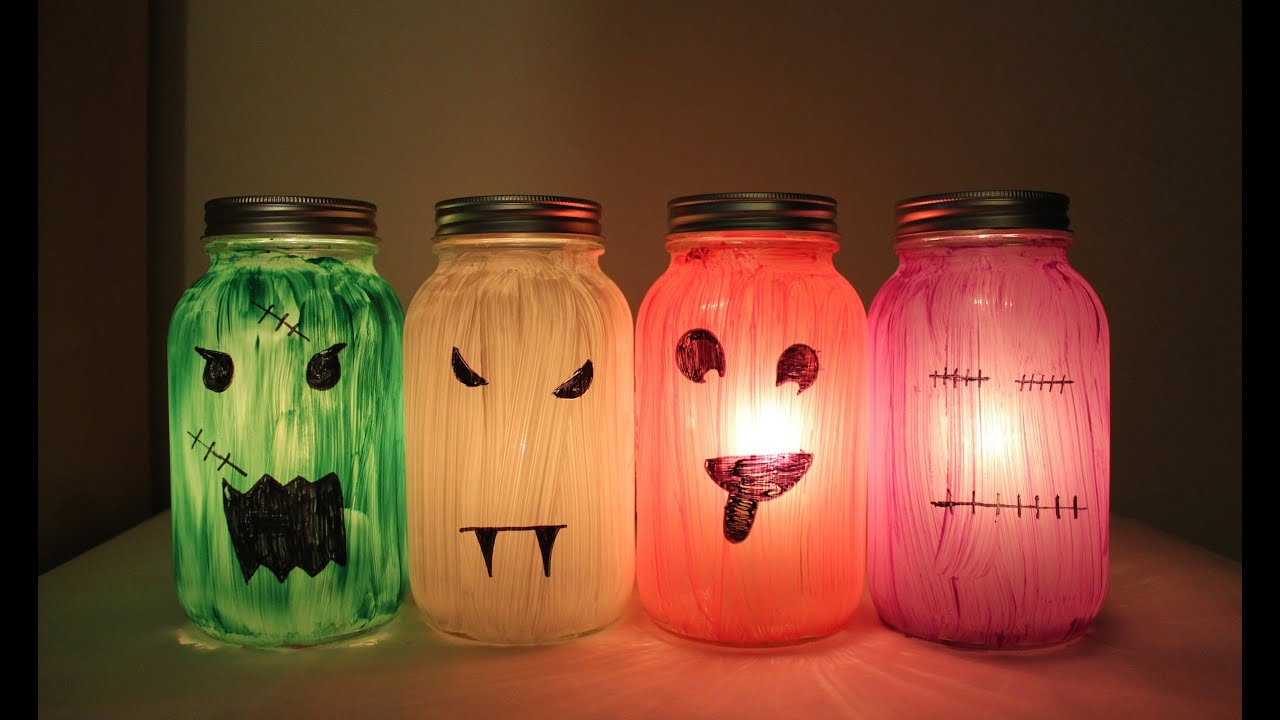 halloween lanterns art project for kids youtube - Preschool Halloween Art Projects