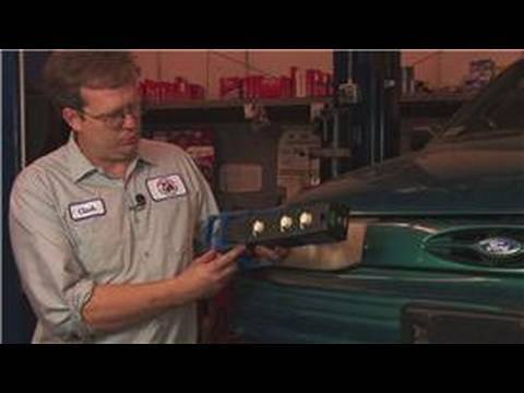 2000 crown vic headlight adjustment