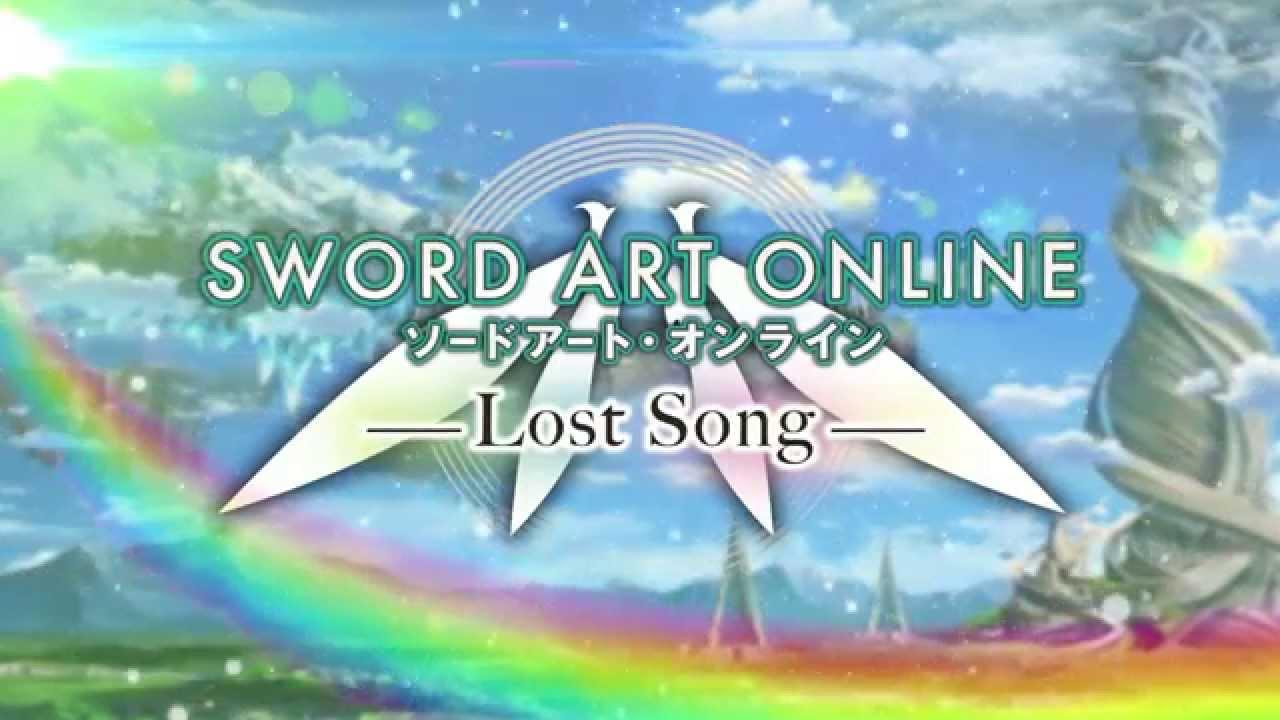 Sword Art Online - Lost Song - Announced - PS3 & PS Vita