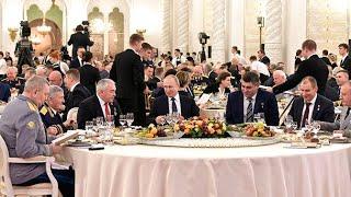 В Кремле состоялся торжественный прием в честь Дня Героев Отечества