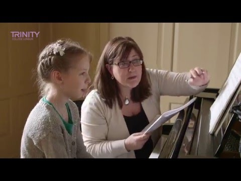 Trinity College London Grade 1 Piano Exam