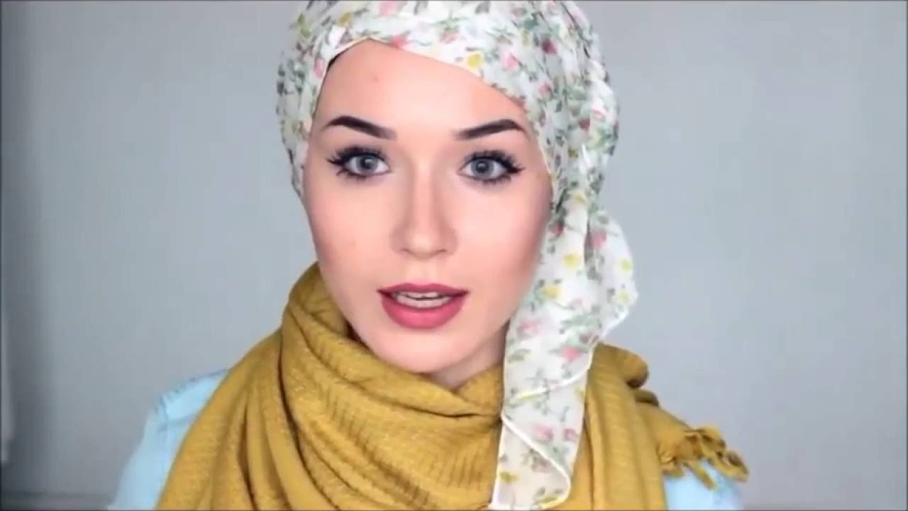 HIJAB TUTORIAL Everday Simple Style 2016 YouTube
