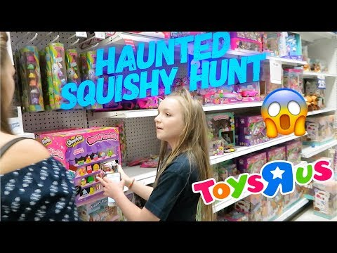 HAUNTED SQUISHY HUNT AT TOYS R US | Bryleigh Anne