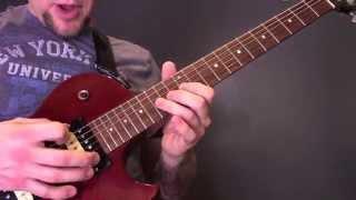 Royal Blood Ten Tonne Skeleton Guitar Tutorial