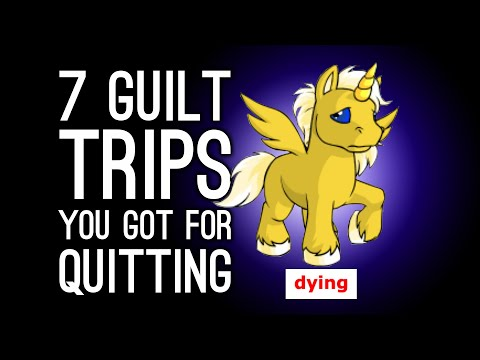 7 Guilt Trips Games Gave You for Quitting