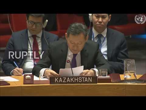 UN: Subject of chemical weapons 'Achilles' heel of the council' – Kazakhstan ambassador