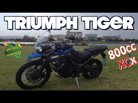 2015 Triumph Tiger 800 XCx Bike Review & Test Ride