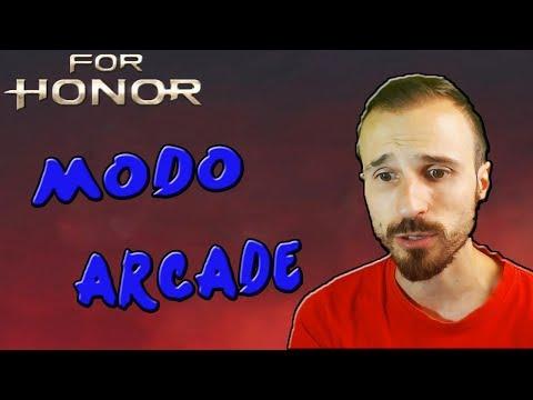 REACCIONANDO AL NUEVO MODO ARCADE DE FOR HONOR!!!!