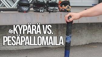 Kypärämateriaalit   Pesäpallomaila vs. MP-kypärä