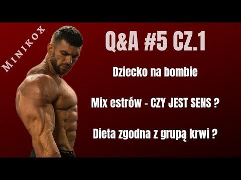 Q&A 5 CZ.1 - DZIECKO NA BOMBIE / MIX ESTRÓW / DIETA A GRUPA KRWI