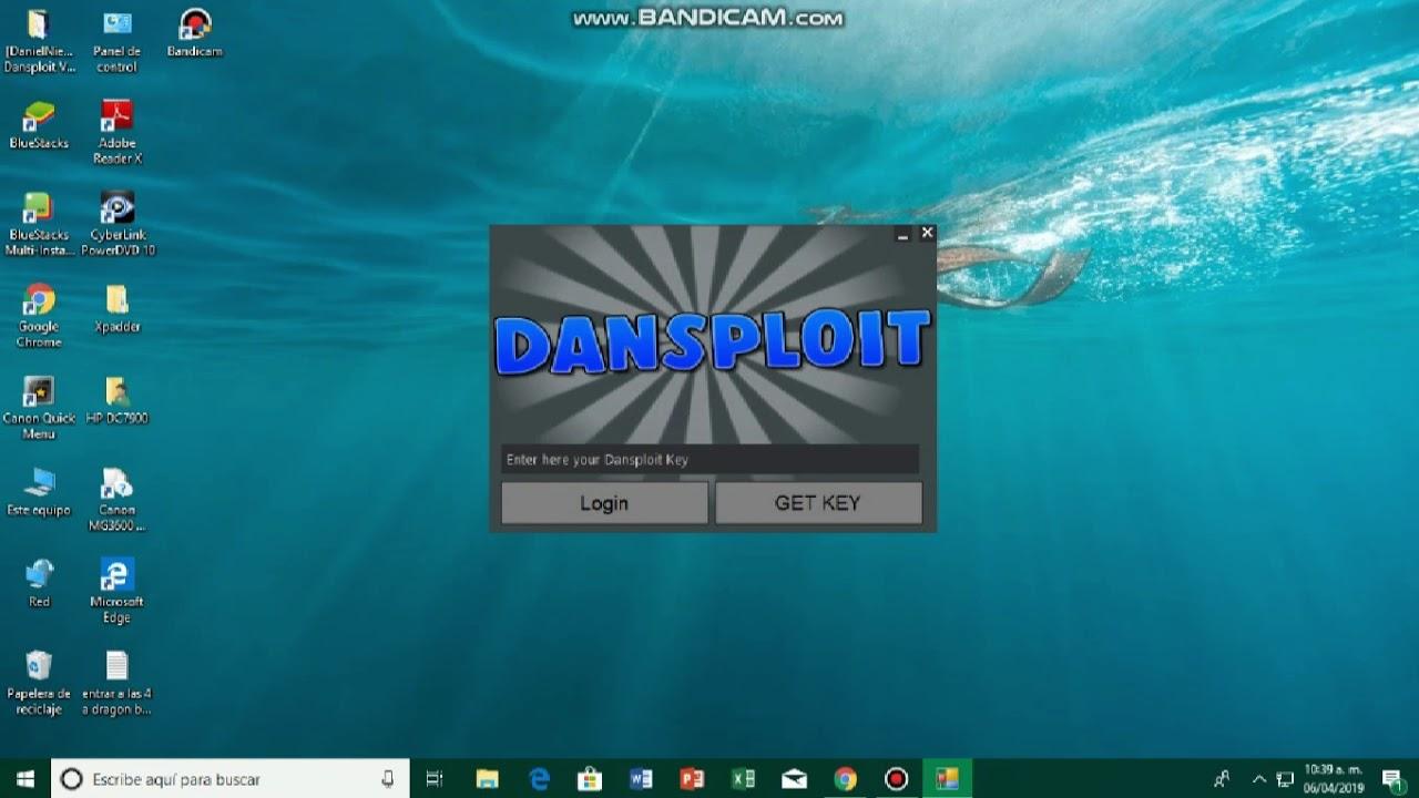 Como Descargar Dansploit Hack De Roblox Para Pc Youtube